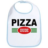 Pizza Dude Bib