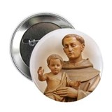 "St. Anthony of Padua 2.25"" Button (10 pack)"