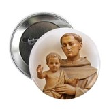 St. Anthony of Padua Button