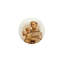 St. Anthony of Padua Mini Button (100 pack)