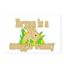 Bryan is a Snuggle Bunny Postcards (Package of 8)