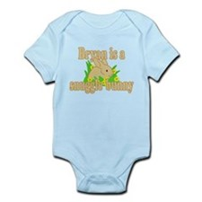 Bryan is a Snuggle Bunny Infant Bodysuit