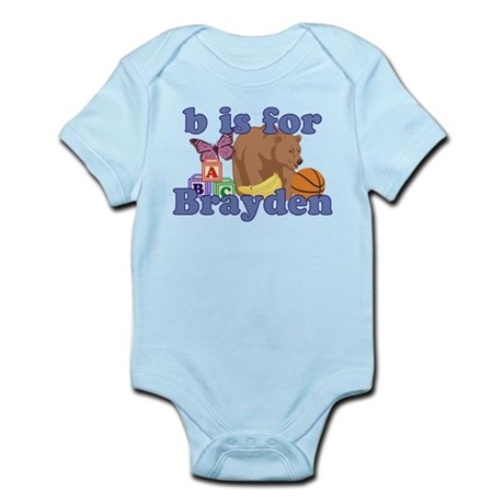 B is for Brayden Infant Bodysuit