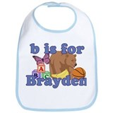 B is for Brayden Bib