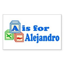 Baby Blocks Alejandro Decal