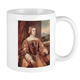 Portrait of Isabella of Portu Small Mug
