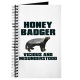 Honey Badger Vicious & Misunderstood Journal