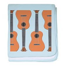 ukulele baby blanket