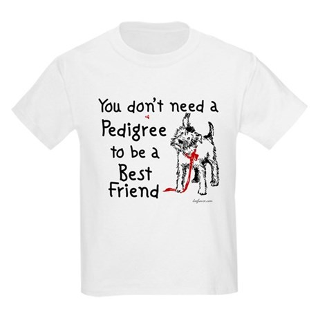 No Pedigree Needed Kids T-Shirt