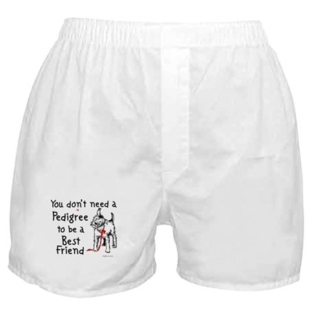 No Pedigree Needed Boxer Shorts