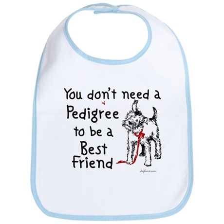 No Pedigree Needed Bib