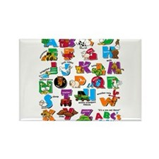 ABC Farm Rectangle Magnet (100 pack)