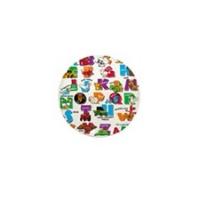 ABC Farm Mini Button (100 pack)