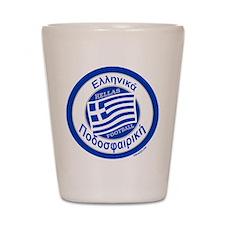 Greece Hellas Soccer/Football Shot Glass