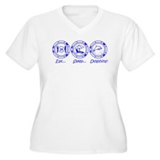 Eat Sleep Dolphins! T-Shirt