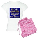 Recall Scott Walker pajamas