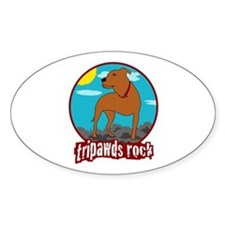 Tripawds Rock (Trouble) Decal