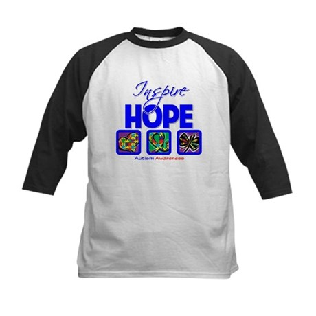 Autism Inspire Hope Kids Baseball Jersey