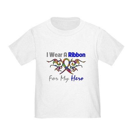 Autism Ribbon Hero Toddler T-Shirt