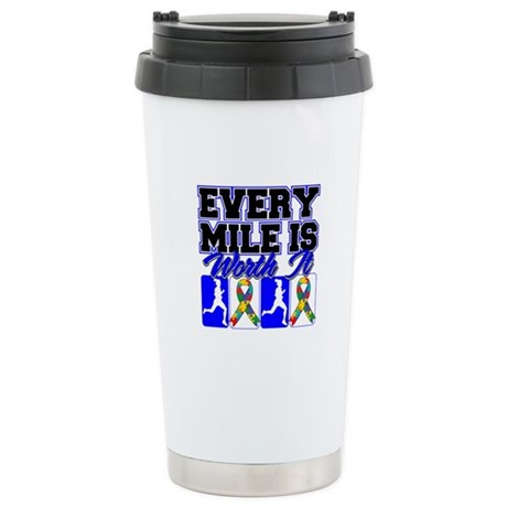 Autism Every Mile Is Worth It Ceramic Travel Mug