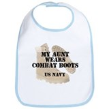 My Aunt Wears Navy DCB Bib
