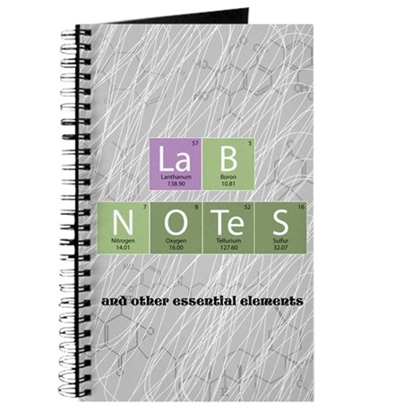 &amp;quot;Lab Notes&amp;quot; Journal