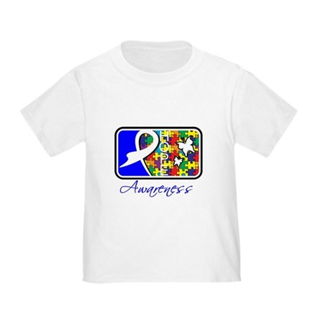 Autism Awareness Tile Toddler T-Shirt