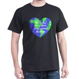 Nobody Loves You Like Your Mother Black T-Shirt