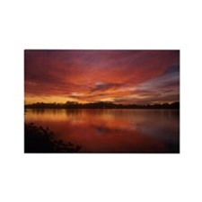 Sunset Rectangle Magnet (100 pack)