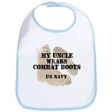 My Uncle Wears Navy DCB Bib