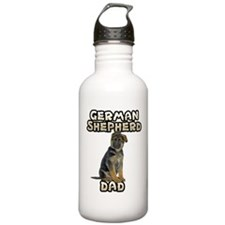 German Shepherd Dad Water Bottle