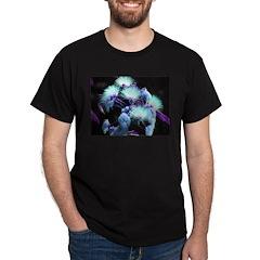 Dyed Silk STILL TESTING Black T-Shirt