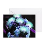 Dyed Silk Greeting Cards (Pk of 10)