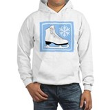 Light Blue Ice Skate Hoodie