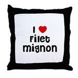 I * Filet Mignon Throw Pillow