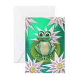 Wonder frog Greeting Card