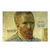 Vincent Van Gogh Quote Postcards (Package of 8)