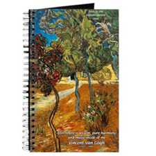 Artist Van Gogh Painting Journal