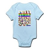 EXCLUSIVE! PRIDE Family Infant Creeper