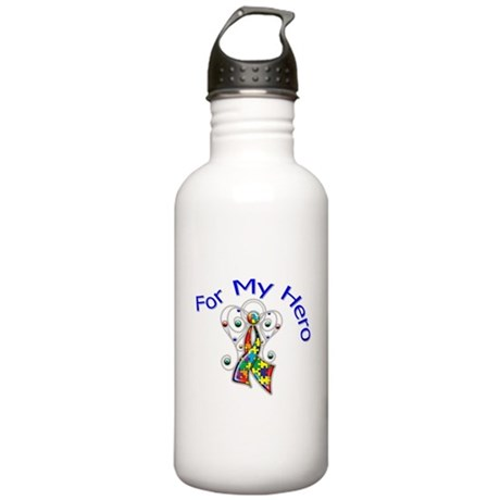 Autism For My Hero Stainless Water Bottle 1.0L