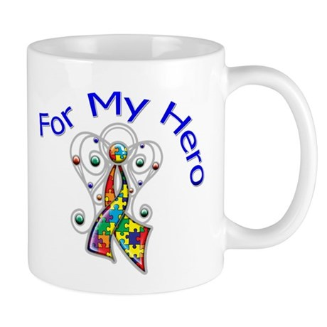 Autism For My Hero Mug