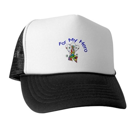 Autism For My Hero Trucker Hat