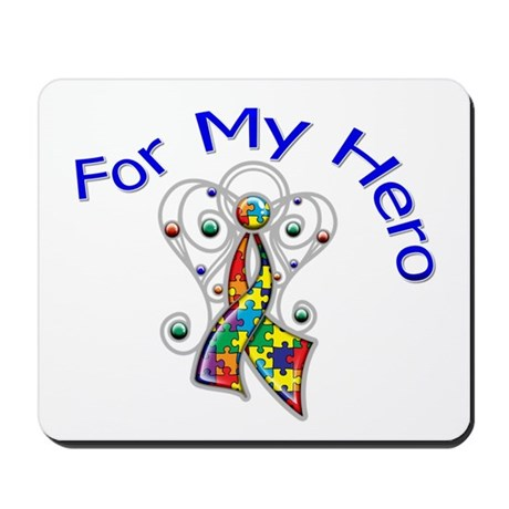 Autism For My Hero Mousepad