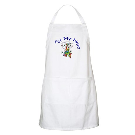 Autism For My Hero Apron