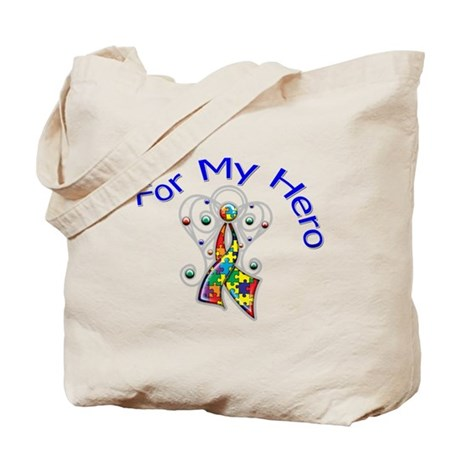 Autism For My Hero Tote Bag