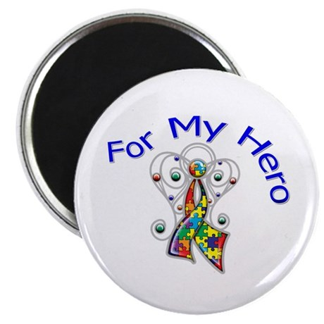 Autism For My Hero Magnet
