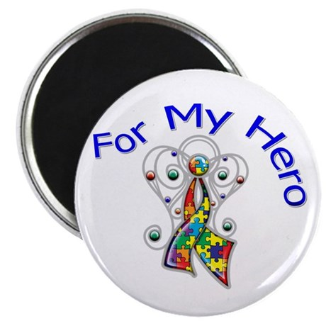 "Autism For My Hero 2.25"" Magnet (100 pack)"