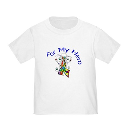 Autism For My Hero Toddler T-Shirt