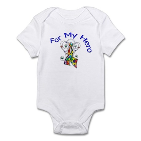 Autism For My Hero Infant Bodysuit