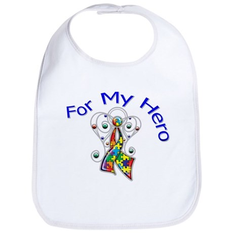 Autism For My Hero Bib